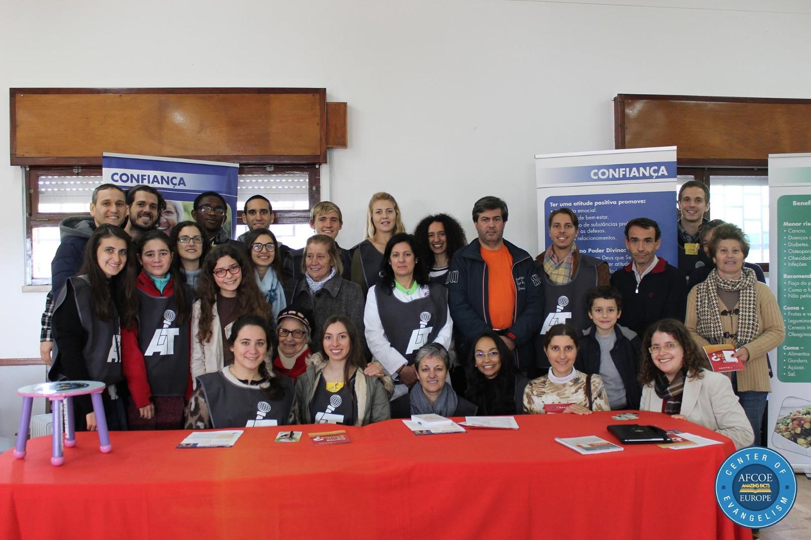 Health Expo in Santo Estêvao!